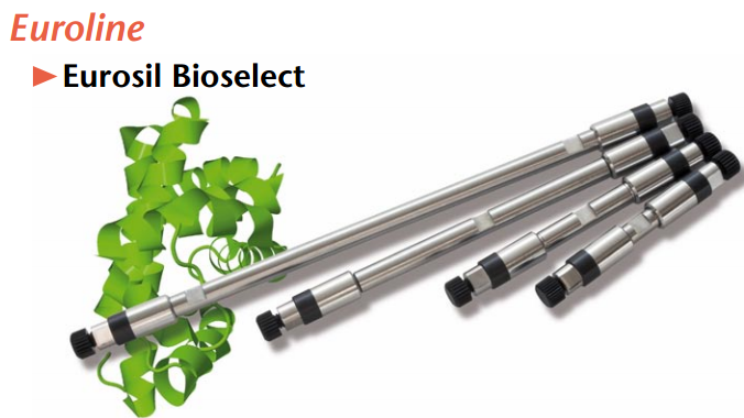 Coluna Cromatográfica Eurosil Bioselect | Knauer