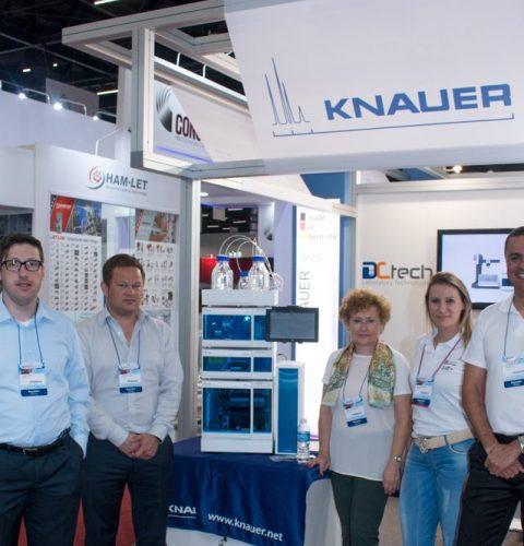 DCtech e Knauer na Analitica 2017