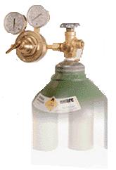 Abastecimento de Gás do Cromatógrafo Gasoso - CG Scion - Antigo Varian