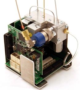 Componentes do injetor do Cromatógrafo Gasoso - CG Scion - Antigo Varian